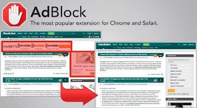 AdBlock Chrome extension