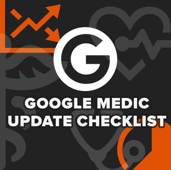 Google Medic Update Checklist