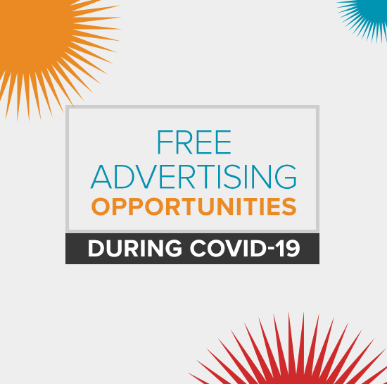 Free Advertising Opportunities During COVID-19