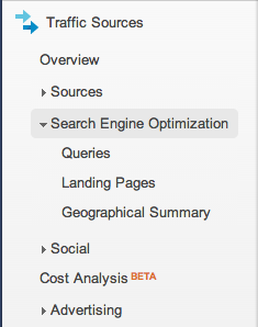 traffic sources search engine optimization