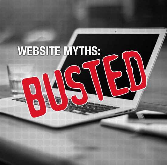 Myths about websites