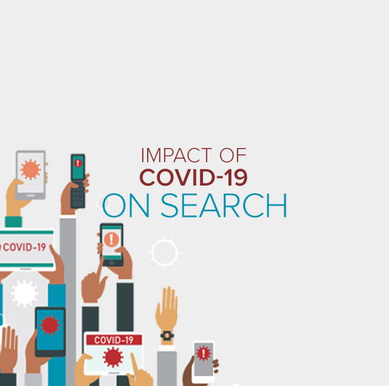 how covid19 has affected search results