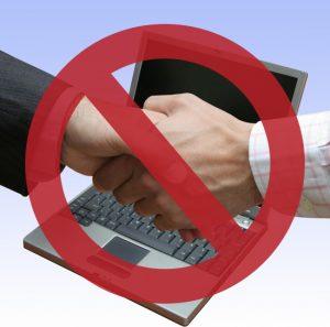 no-handshakes